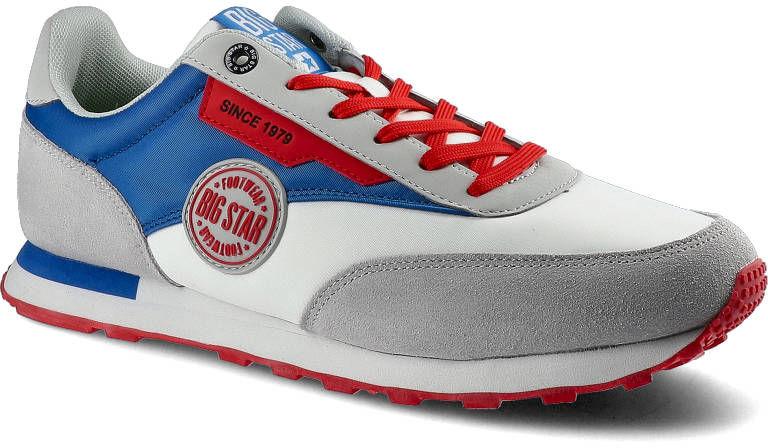 Sneakersy BIG STAR HH174248 Biały/Niebieski