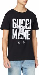 MERCHCODE Gucci Mane Victory T-shirt męski czarny czarny X-S