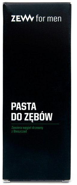 ZEW for men - Pasta do zębów z węglem drzewnym