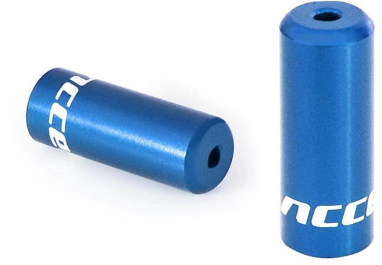 Końcówka pancerza hamulca 5 mm Accent w kolorze niebieskim 5 sztuk