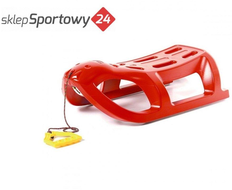 Sanki plastikowe SEA LION czerwone - Prosperplast
