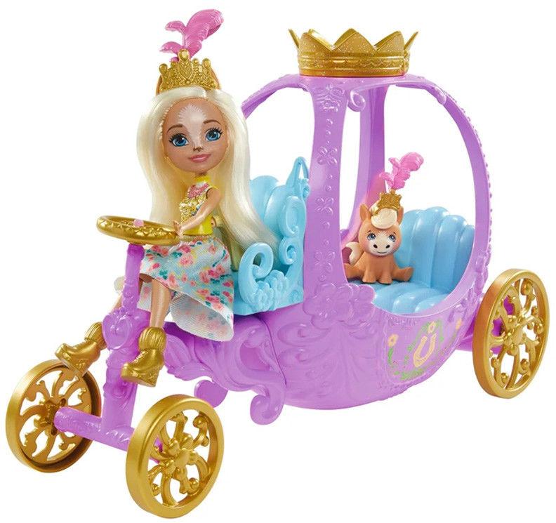 Enchantimals Królewska karoca z lalką GYJ16