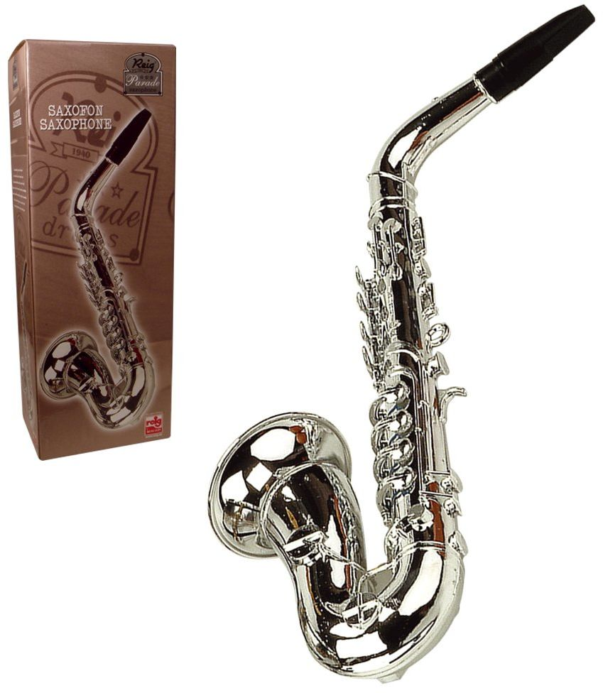 Reig Saksofon Deluxe (srebrny)