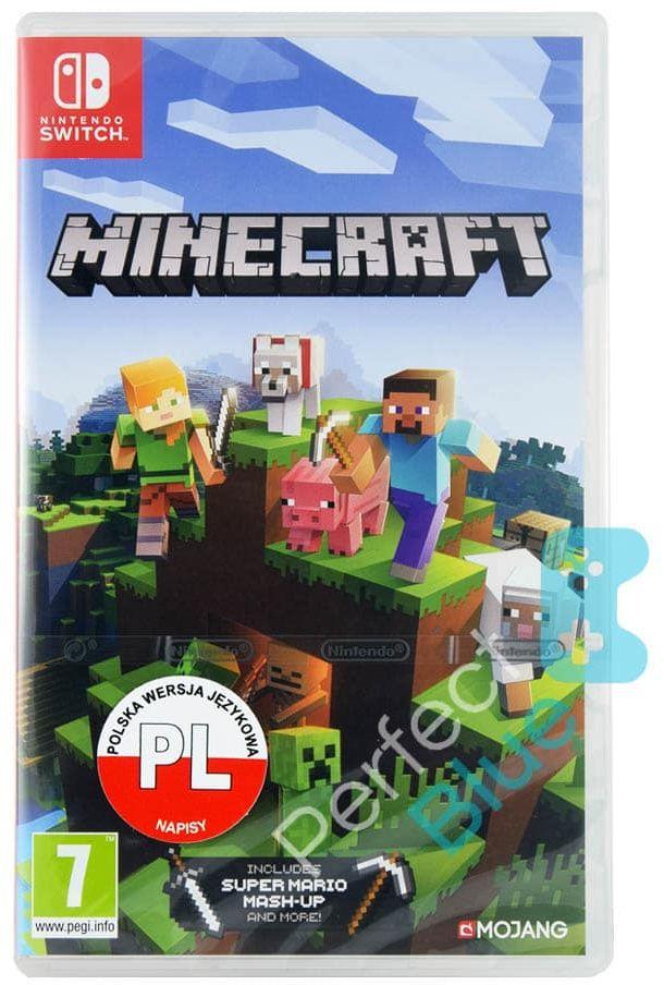 Minecraft / Nintendo Switch / Warszawa CH Land / Autoryzowany Sklep Nintendo