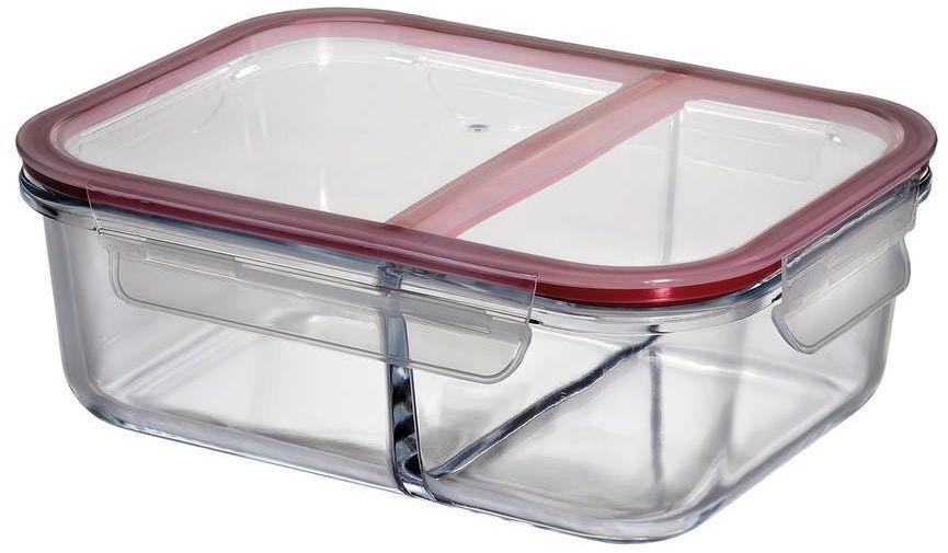 Kuchenprofi - lunch box dwukomorowy, 22,50 cm - 22,50 cm