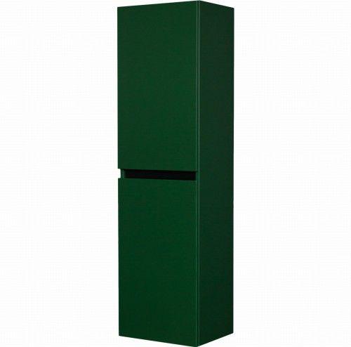 Regał łazienkowy zielony 40x154cm, wysoki dwudrzwiowy, Gante Sensi