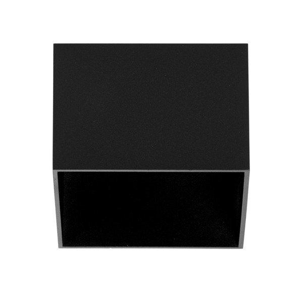 Oprawa sufitowa spot kostka natynkowa TAGEL S szer. 12cm czarny