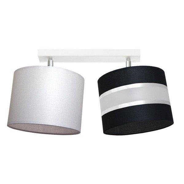 Lampa sufitowa z abażurem ADELLA II szer. 42cm [abażur do wyboru]