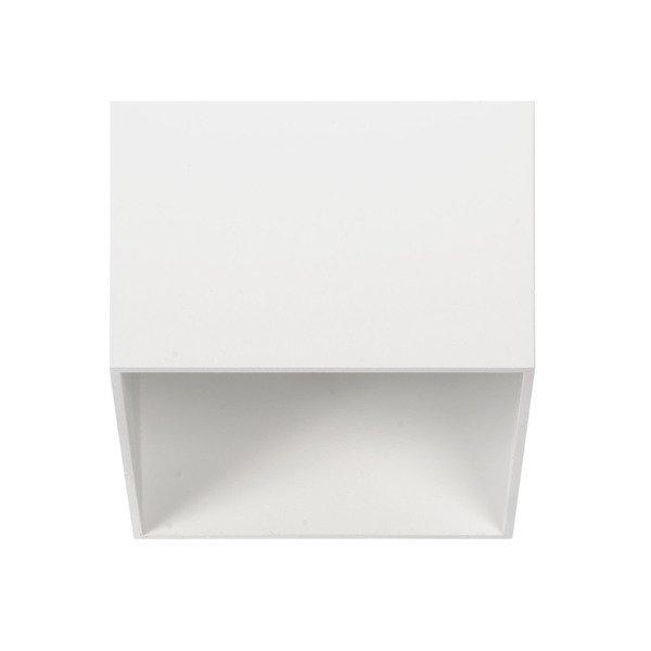 Oprawa sufitowa spot kostka natynkowa TAGEL S szer. 12cm biały