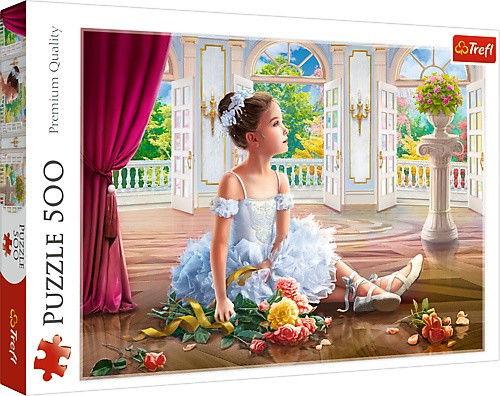 Puzzle 500 elementów - Mała Baletnica