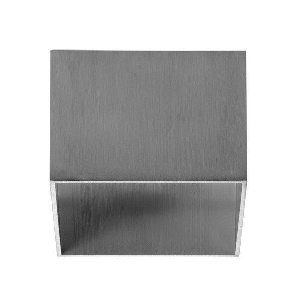 Oprawa sufitowa spot kostka natynkowa TAGEL S szer. 12cm aluminium