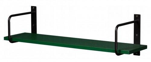 Półka łazienkowa zielona BELT 80cm + wsporniki, Gante Sensi