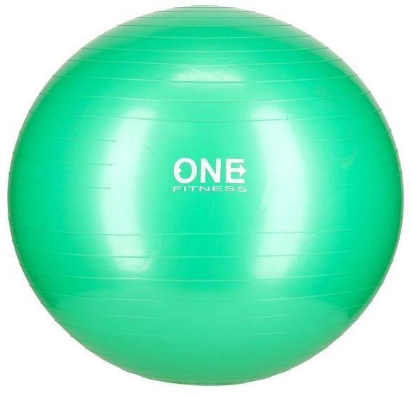 GYM BALL 10 65CM GREEN PIŁKA GIMNASTYCZNA ONE FITNESS 5907695529289