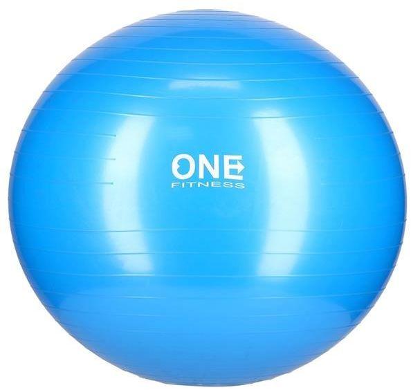 GYM BALL 10 65CM BLUE PIŁKA GIMNASTYCZNA ONE FITNESS 5907695529272