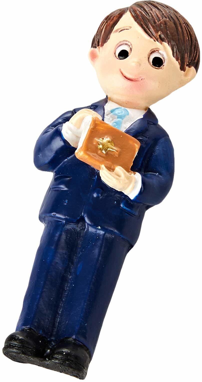 Mopec Z6730 magnes dla dzieci, komunia, garnitur, niebieski i biblijny, 6 cm, 12 sztuk, żywica syntetyczna, wielokolorowy, rozmiar uniwersalny