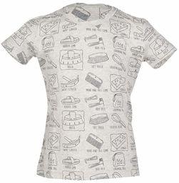 HKM T-shirt dla dorosłych Royal-9575 melanżowe spodnie 110/116, 9575 szary melanż, 110/116