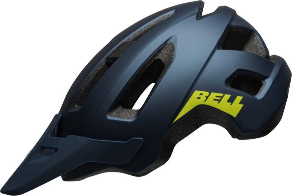 Kask rowerowy juniorski BELL NOMAD JR matte blue hi-viz Rozmiar: 52-57,nomadjrbluehiviz