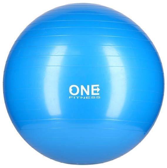 GYM BALL 10 55CM BLUE PIŁKA GIMNASTYCZNA ONE FITNESS 5907695529197