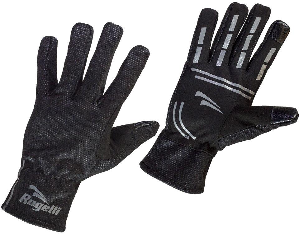 ROGELLI ANGOON zimowe rękawiczki membrana, czarne Rozmiar: L,rogelli-angoon-black