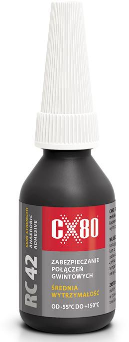 CX-80 RC42 klej do zabezpieczania gwintów 10ml