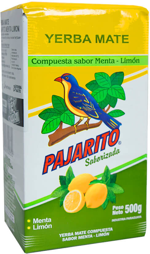Yerba Mate Pajarito Menta Limon 0,5 kg