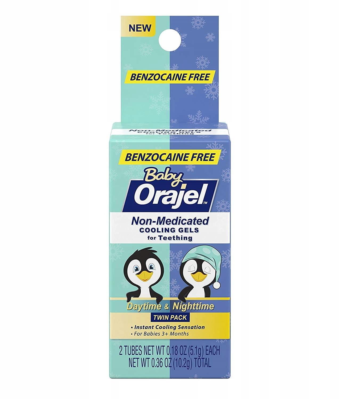 Orajel Baby żel na bolesne ząbkowanie 2x5.1g