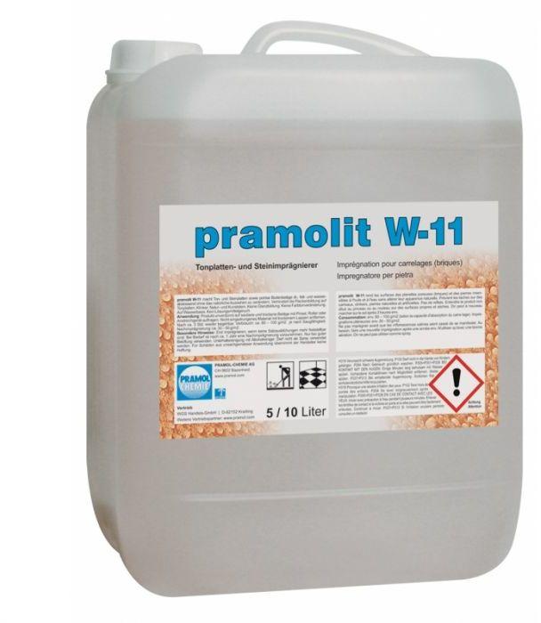 Pramolit W-11 - Impregnat na bazie wody do betonu i tekstyliów