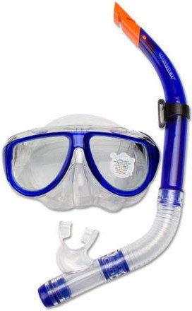 Maska z fajką do nurkowania dla dorosłych Waimea