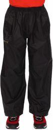 Regatta Unisex Dzieci Stormbreak Wodoodporne i oddychające spodnie Czarny Size 15-16