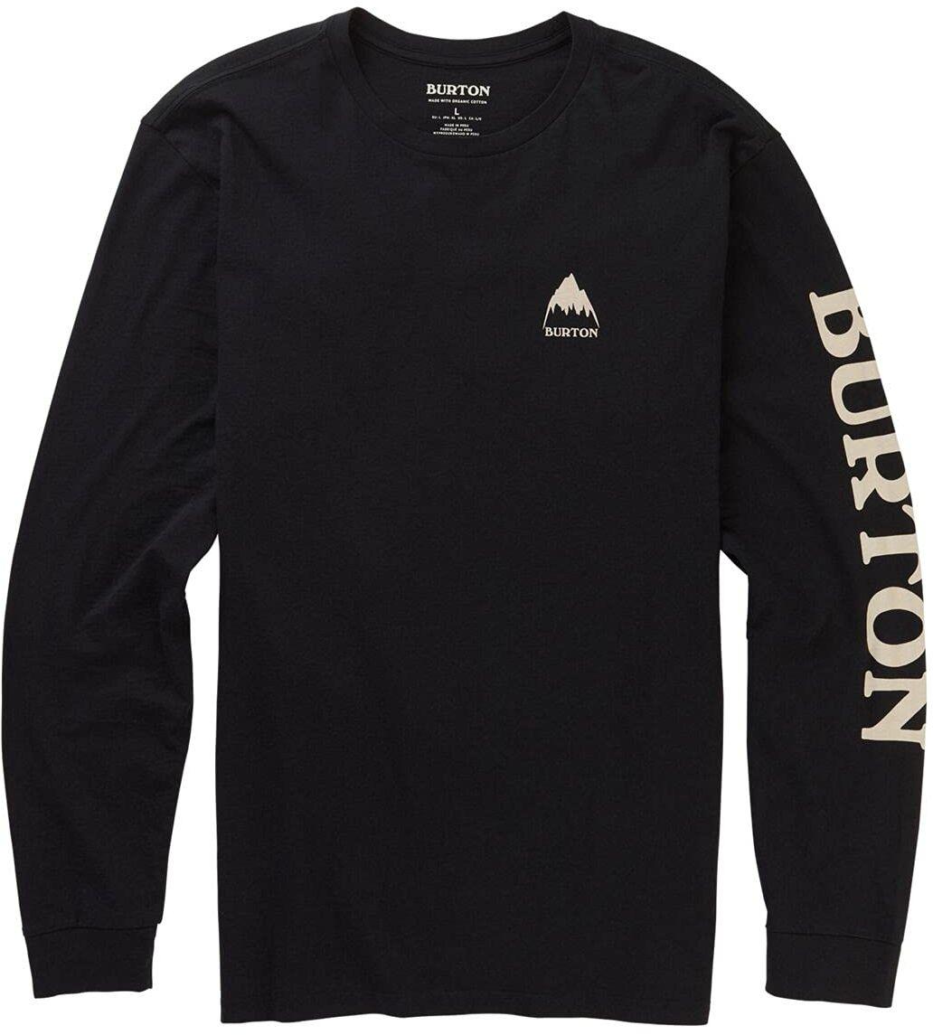 Burton Elite męska koszulka z długim rękawem czarny czarny (True Black) X-S