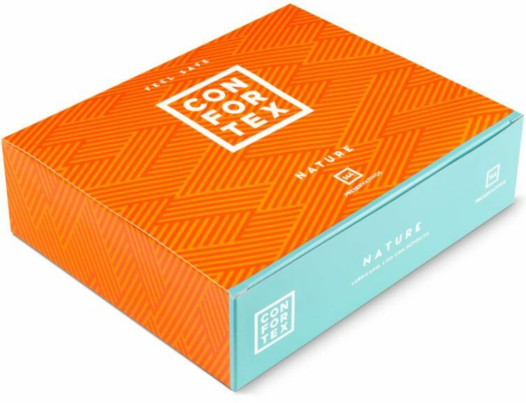 Prezerwatywy Confortex Condom Nature Box (144szt.) 100% ORYGINAŁ DYSKRETNA PRZESYŁKA