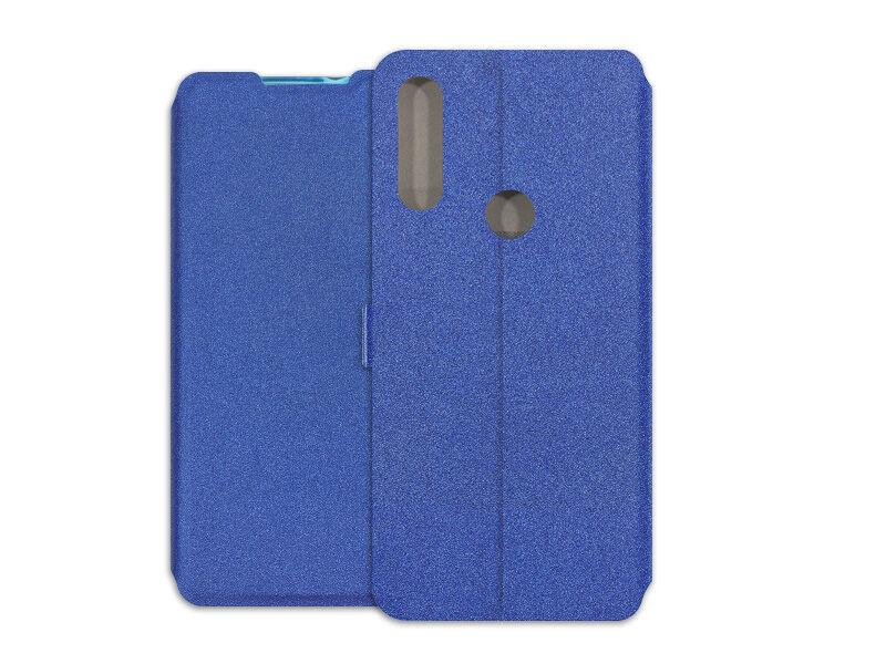 Alcatel 3L (2020) - etui na telefon Wallet Book - granatowy
