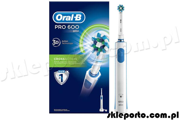 Braun Oral-B szczoteczka elektryczna PRO600 CrossAction D16.513