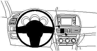 ProClip do Mazda CX-5 12-17