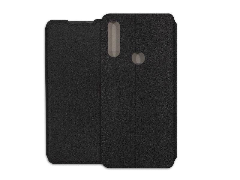 Alcatel 3L (2020) - etui na telefon Wallet Book - czarny