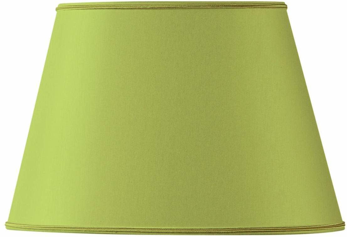 Klosz lampy owalny, Ø 45 x 28/29 x 20/27, jasnozielony