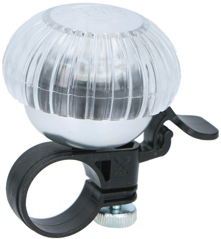 Dzwonek rowerowy lampka na rower Dunlop 2w1
