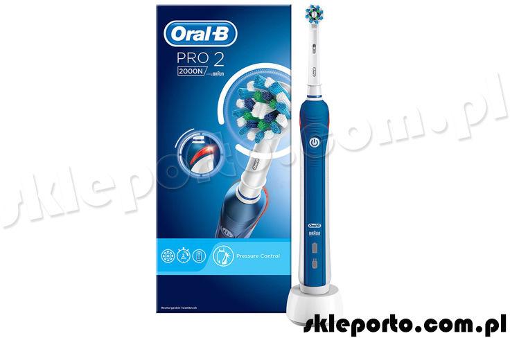 Braun Oral-B szczoteczka elektryczna PRO 2 2000N CrossAction