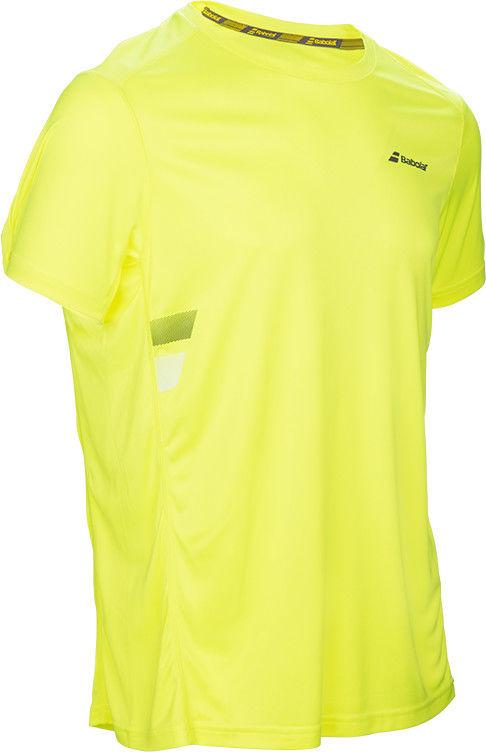 Babolat Core Flag Club Tee Men - aero yellow