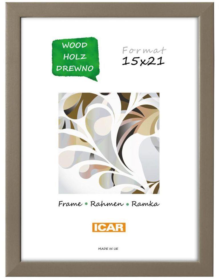 Ramka na zdjęcia Pinia 13 x 18 cm kawowa drewniana