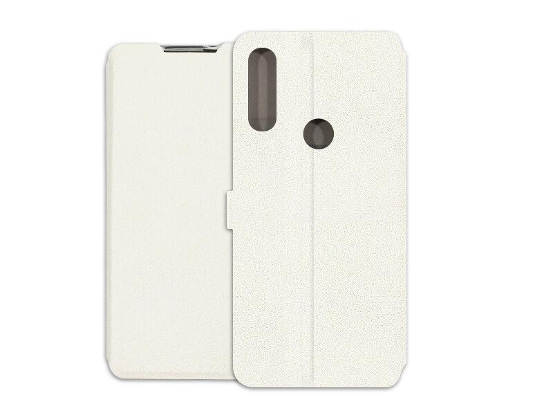 Alcatel 3L (2020) - etui na telefon Wallet Book - biały