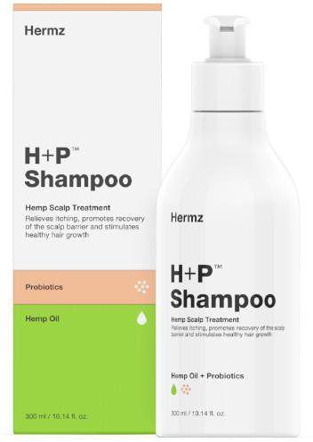 H+P szampon konopny z CBD i probiotykami 300 ml