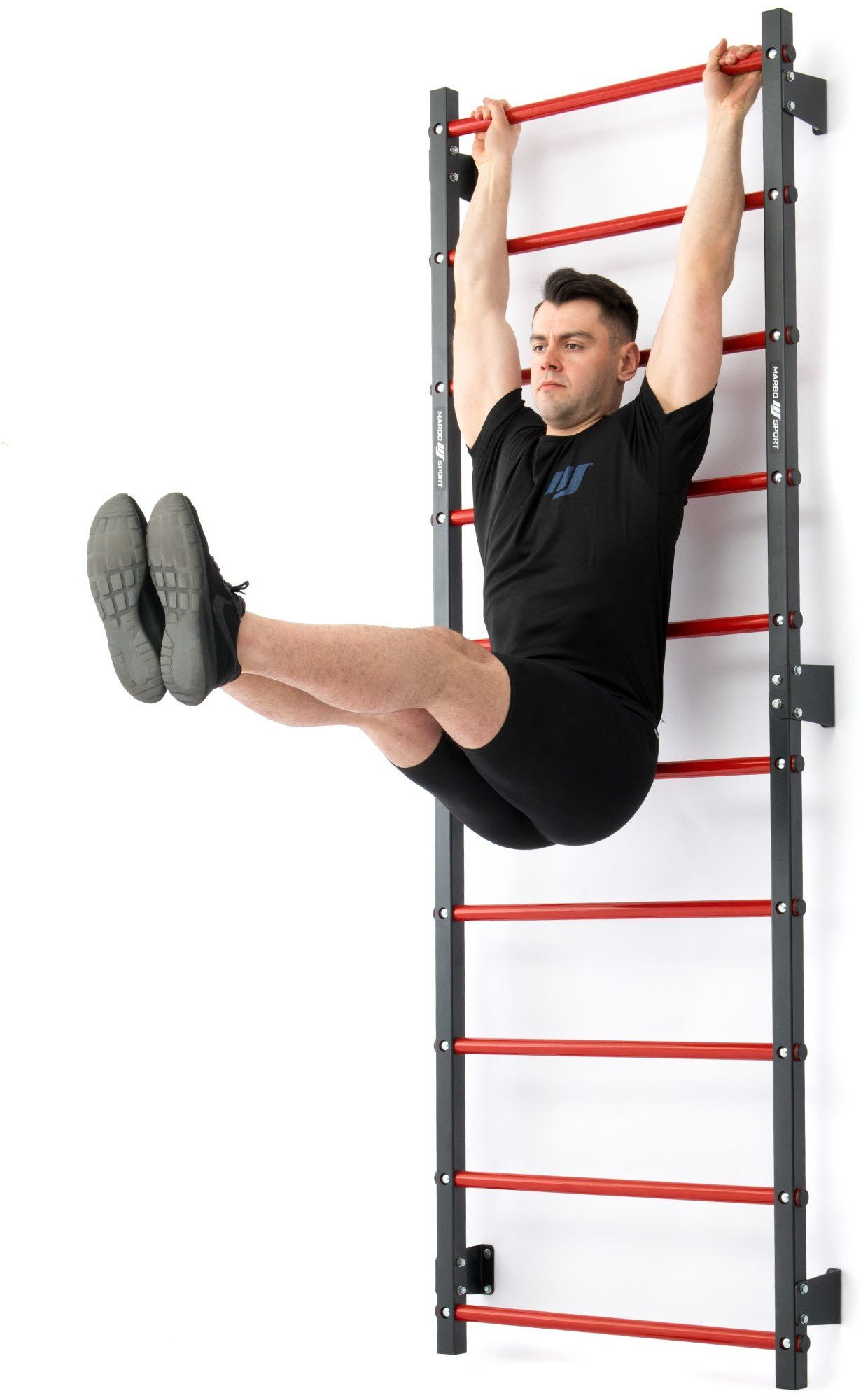 Drabinka gimnastyczna metalowa 230 x 81 cm MH-U204 - Marbo Sport