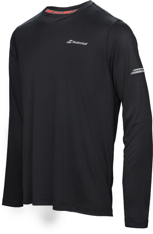 Babolat Core Long Sleeves Tee Men - black