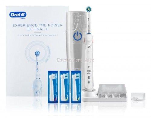 Braun Oral-B Smart 4 4000 Szczoteczka Elektryczna z funkcją Bluetooth + 4 końcówki WhiteBox
