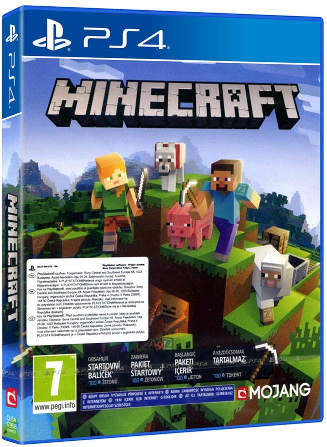Minecraft + Dodatki / PS4 / Warszawa / 533 111 700