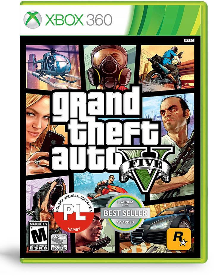 Grand Theft Auto V / GTA 5 PL / Xbox 360 / Warszawa