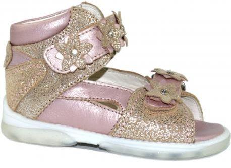 MEMO MONACO 3FD sandały buty profilaktyczne dla dziewczynki