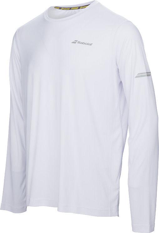 Babolat Core Long Sleeves Tee Men - white