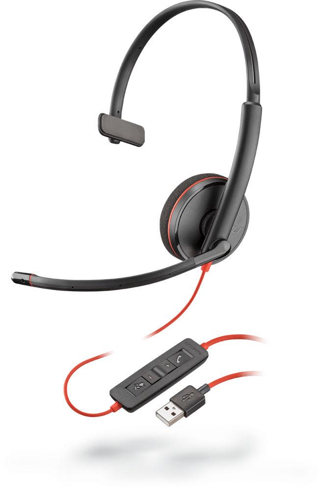 POLY Blackwire C3210 Zestaw słuchawkowy Opaska na głowę USB Typu-A